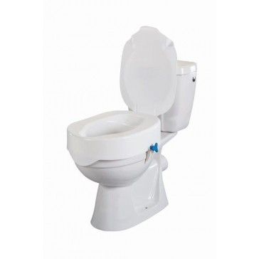 Rehotec Raised Toilet Seat with Lid
