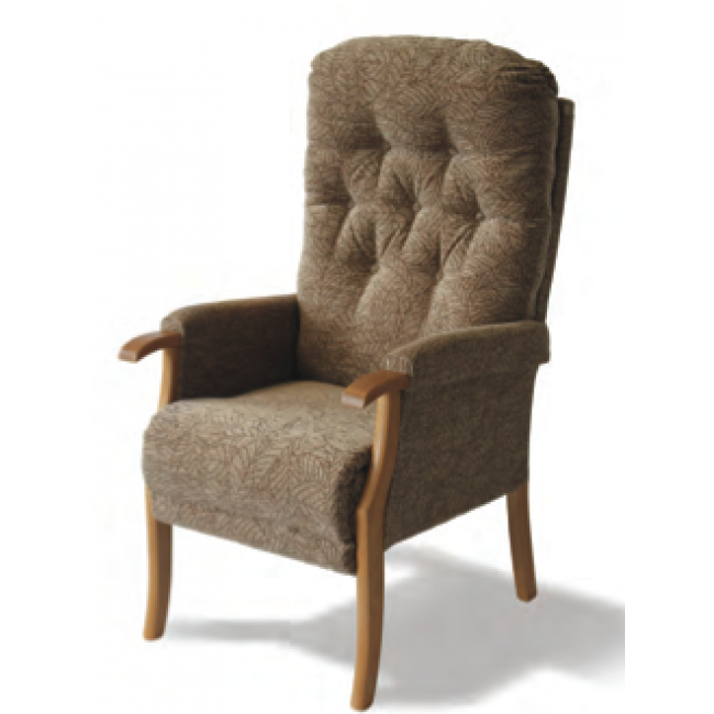 avon high back chair seating furniture living room