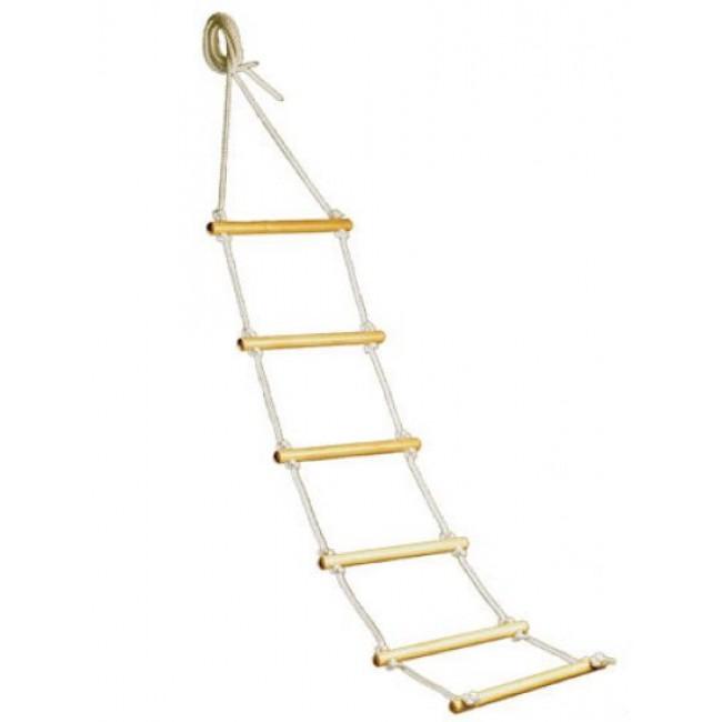 wooden bed rope ladder carestore. Black Bedroom Furniture Sets. Home Design Ideas