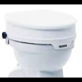 AQUATEC Raised Toilet Seat with Lid