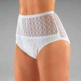 Ladies Cotton Protective Underwear with inner pocket for absorbent pad
