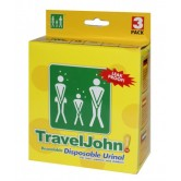 Travel John Disposable Urinals