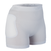 Suprima Hip Protection pant, integral foam pads protect hips in the case of falls