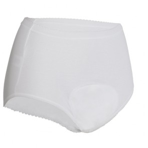 Ladies Full Brief - White - Side view