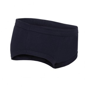 Boys Training Brief - Children's Absorbent Incontinence Underwear - Navy - Side view of pant