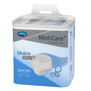 MoliCare Premium Mobile, 6 drop Pull Up Pant (BLUE PACK).