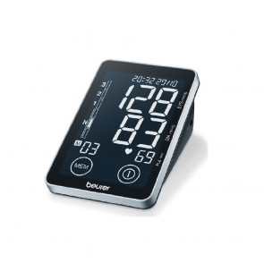 Beurer BM58 Blood Pressure Monitor with Touch sensor buttons and XL Display screen