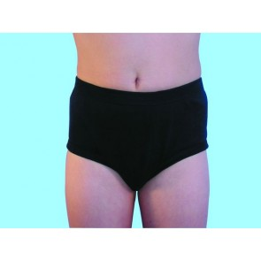Boys Concealed padded brief - Children's absorbent incontinence underwear - Navy