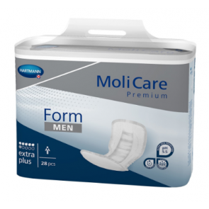 Molicare Premium Form Pad for Men - Extra Plus for severe incontinence