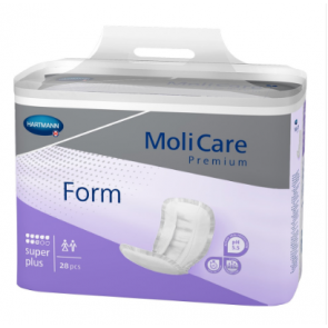 MoliCare Premium Form Super Plus large shaped incontinence pad