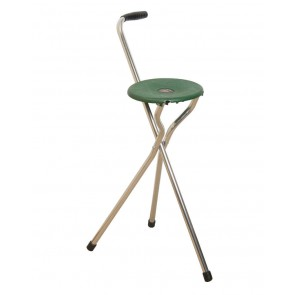 Classic Canes Tripod Seat Walking Stick