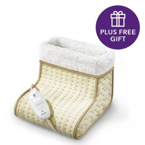 Beurer Cosy Heated Foot Warmer plus free Christmas Gift