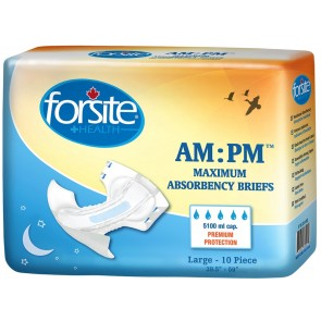 Forsight AM:PM Maximum Adult Briefs