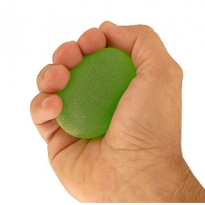 Hand Exercise Gel Training Ball - Green - Medium Resistance
