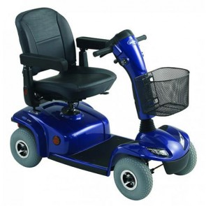 Invacare Leo Boot Scooter in Blue