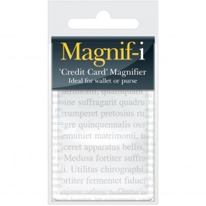Magnif-i Credit Card Size Magnifier