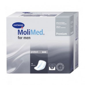 MoliMed for Men Protect Pads - Light Dribble Incontinence