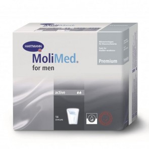 MoliMed for Men Active Pouch for Light / Dribble Incontinence