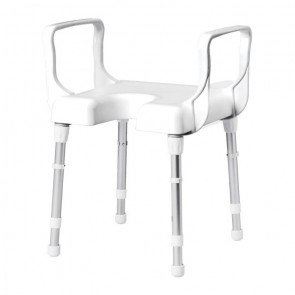 Rebotec CANNES Shower Stool With Arms