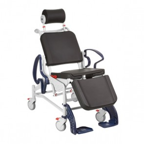 Rebotec Reclining Mobile Shower Chair
