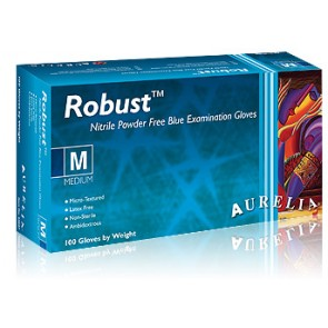 Aurelia Robust Nitrile Powder Free Gloves