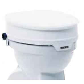 AQUATEC Raised Toilet Seat with Lid