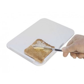 Food Preparation Board makes one-handed food prep easier