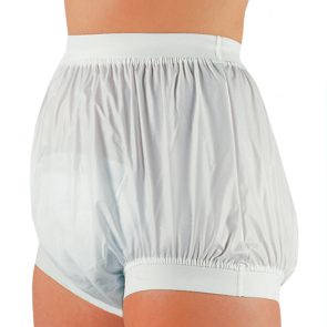Suprima PVC Incontinence Slip Protective Brief with wide elasticated waistband and leg cuffs
