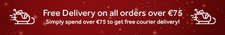 Free Delivery over €75 Christmas